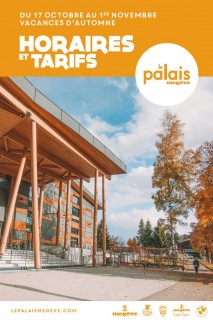 Le Palais | Horaires et tarifs Vacances d'Automne