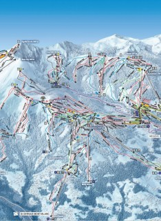 Plan des pistes / Skimap